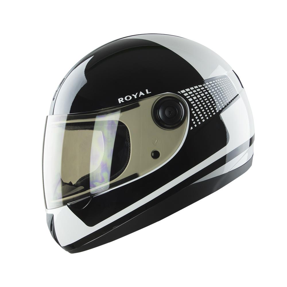 Royal M02 Schu Đen - Trắng